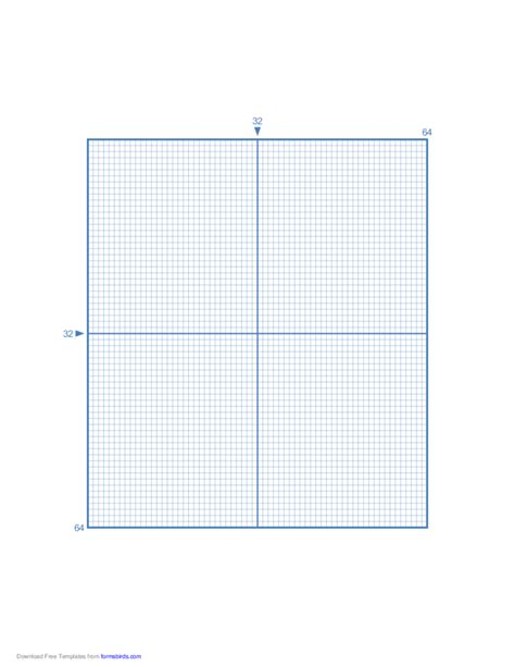 printable graph paper for division cross stitch 32 lines per division free download