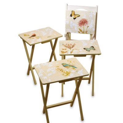 Snack Tray Table by Buy Snack Tray Tables From Bed Bath Beyond