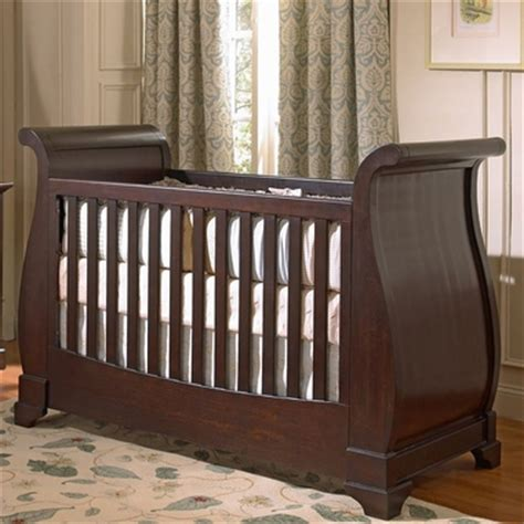 Munire Chesapeake Sleigh Crib chesapeake merlot chesapeake classic sleigh crib by munire