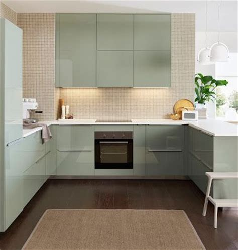 Green Kitchen Cabinets Ikea Kallarp Ikea Kitchen Ideas Pinterest Cabinets