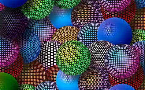 imagenes para celular en 3 d 3d neon balls 2560 215 1600 s 243 papel de parede gr 225 tis