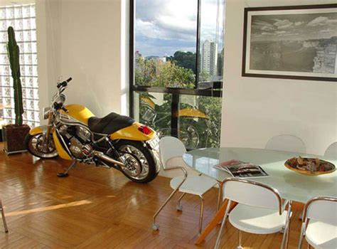 Small Apartment Living Room Ideas dream motorcycle garages park your ride in style at night