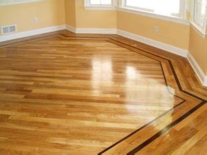 Hardwood Flooring Borders and Inlays   Rochester Hardwood