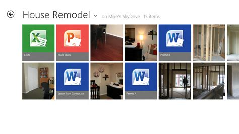 remodel house app connecting your apps files pcs and devices to the cloud with skydrive and windows 8 building