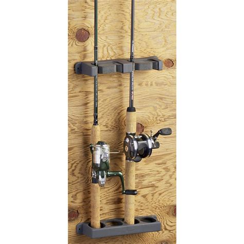 Fishing Rod Racks For Home by 4 Rod Rack 186922 Fishing Rod Racks At Sportsman S Guide