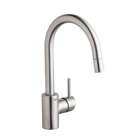 kitchen faucet with spray grohe concetto single handle pull sprayer kitchen