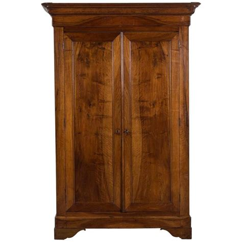 walnut armoire french louis philippe walnut armoire circa 1850 for sale