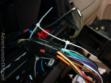 ford f 150 factory radio uninstall and new radio install