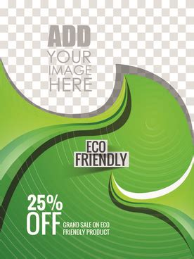 Eco Styling Made Easy With Eco Stylist by Simple Eco Brochures With Transparent Segments Free Vector