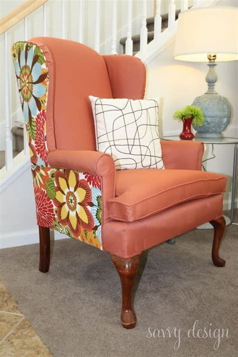 Diy Reupholster Armchair by Remodelaholic Wingback Chair Reupholstering Tutorial