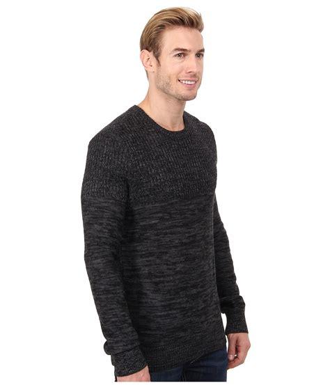 calvin klein knit sweater calvin klein parallel knit stripe crew neck sweater