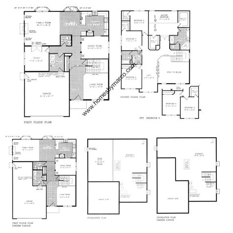 Neumann Homes Floor Plans | ridgewood model in the wesmere subdivision in plainfield