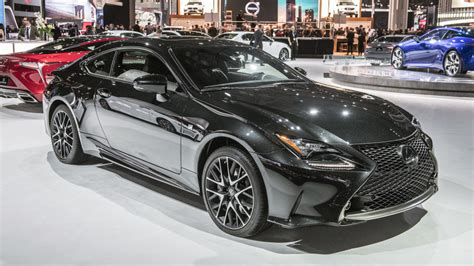 lexus coupe black lexus rc coupe black line special edition limited to just
