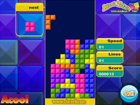 tetris game for pc free download full version acool tetris v 10 freeware download