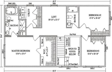 two and a half house floor plan fairbury by wardcraft homes two story floorplan
