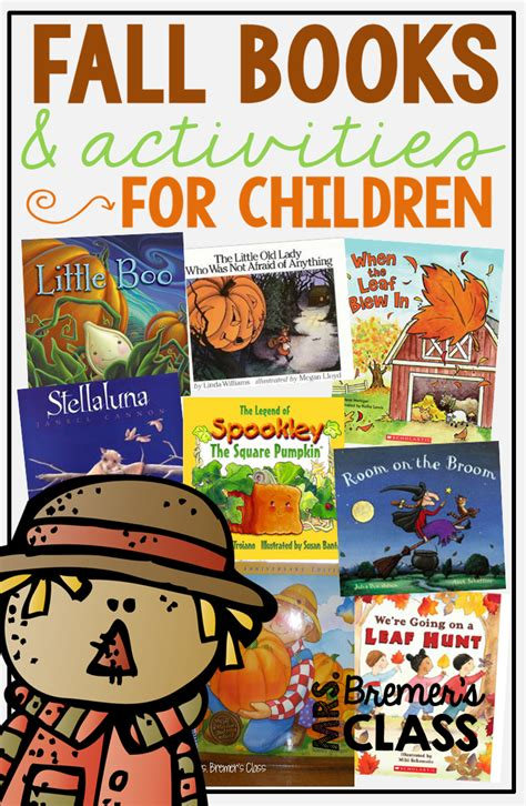 fall of books mrs bremer s class fall books for