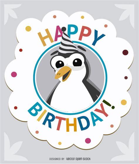 Nonna Pinguin geburtstags pinguin gru 223 karte der kostenlosen