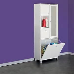 colonne de rangement meubles de salle de bains alin 233 a