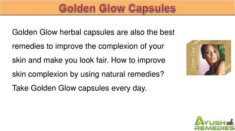 ppt how to improve skin complexion by using