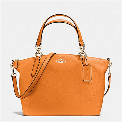 Coach Kelsey Small Patcwork small kelsey satchel in pebble leather f36675