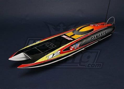offshore boats ebay rc genesis offshore brushless rc twin hull 1045mm ebay