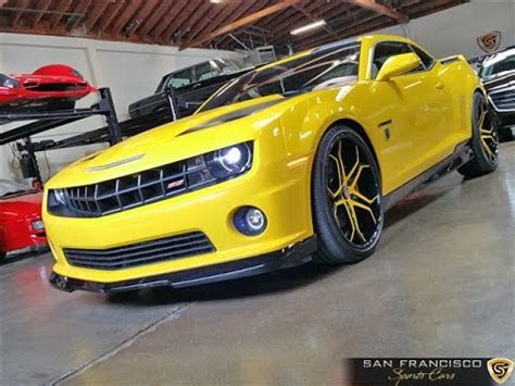 camaro transformers edition for sale 2012 chevy camaro bumblebee edition for sale