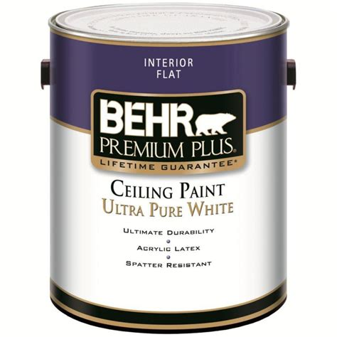 home depot paint prices behr behr premium plus premium plus interior flat ceiling paint