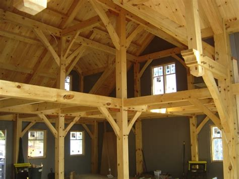 post and beam construction maine timber frame post and beam home construction