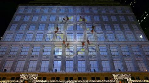 2013 saks fifth avenue holiday 3d light show youtube
