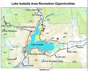 lake california map california map