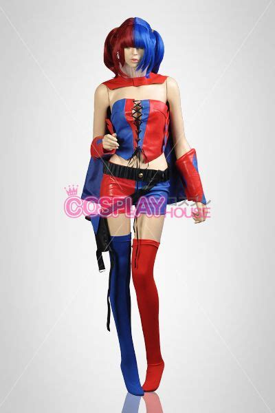 Asylum Jogger Blue dc comic new 52 harley quinn blue and