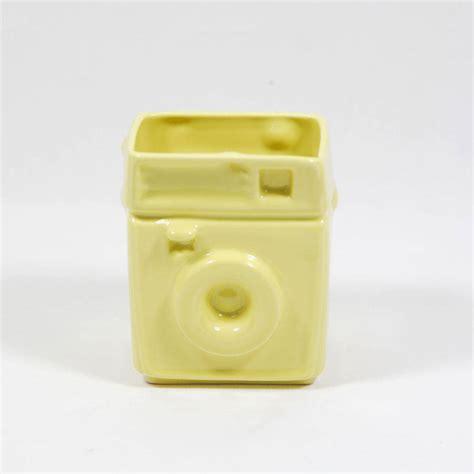 yellow kitchen utensil holder polaroid utensil holders by abigail