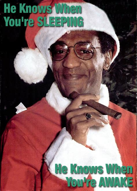 Dirty Christmas Memes - new bill cosby santa meme goes viral
