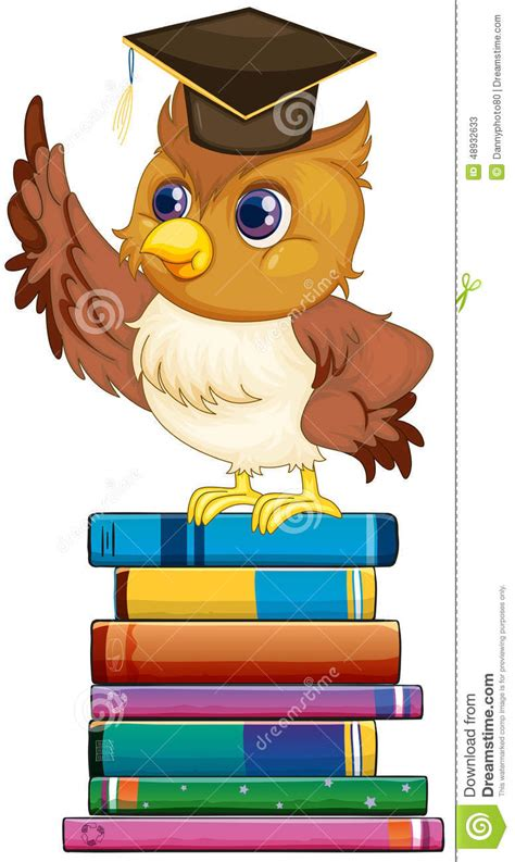 libro illustrations now illustration now owl and books stock vector image 48932633