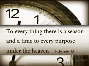 ecclesiastes     appointed time