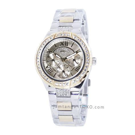 Jam Tangan Guess R4 5 harga sarap jam tangan guess w0111l5 silver gold combi