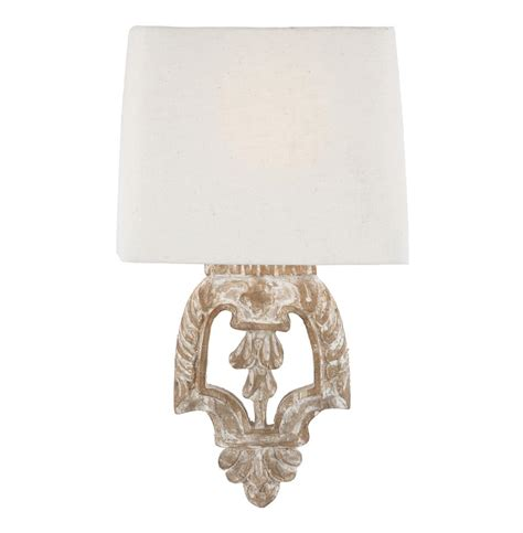 White Wall Sconce Pair Dorene Shabby Chic White Wash Architectural Wall Sconces Kathy Kuo Home