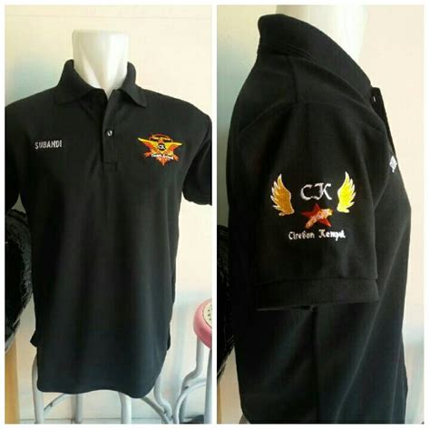 Polo Shirt Bordir 3 Titik Polo Shirt Bordir Custom jual kaos polo shirt kaos berkerah bordir alimi