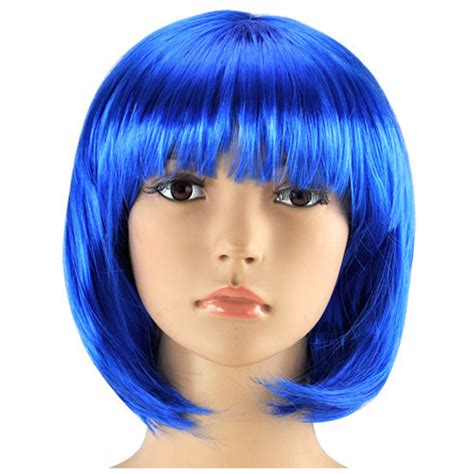 wigs 62 and over womens ladies short bob wig fancy dress cosplay wigs pop