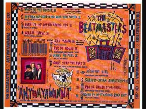 the beatmasters the beatmasters don t stop the beat youtube