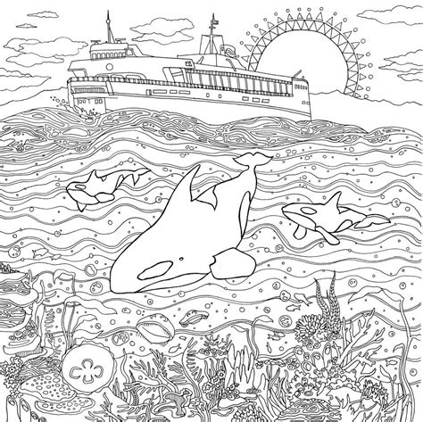 detailed landscape coloring pages for adults detailed landscape coloring pages for adults part 2