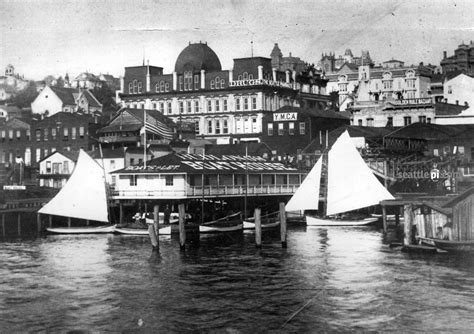 p i archive seattle waterfront in the 1880s seattle s
