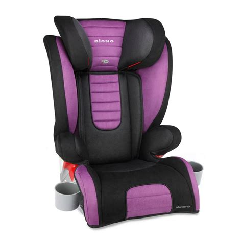 Booster Seat diono monterey high back booster with adjustable headrest bloom baby