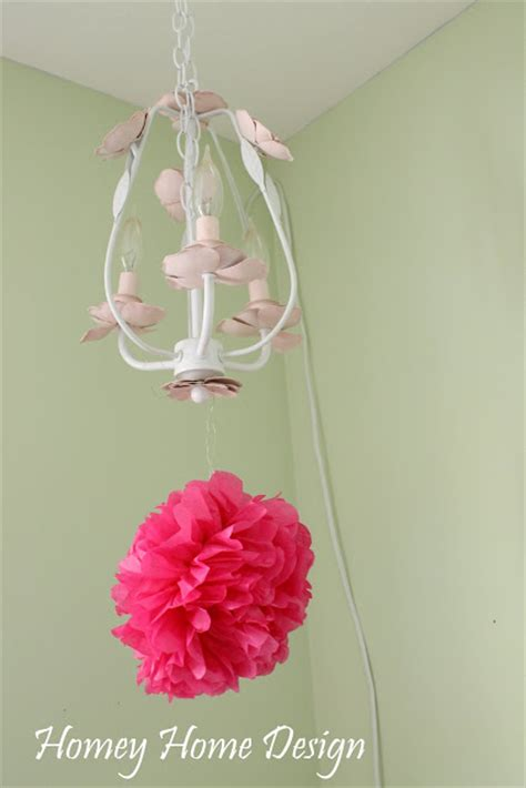 How To Make Tissue Paper Puff Balls - homey home design tissue paper puff balls