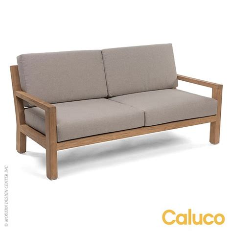 Caluco Patio Furniture Sixty Loveseat Caluco Patio Furniture Metropolitandecor