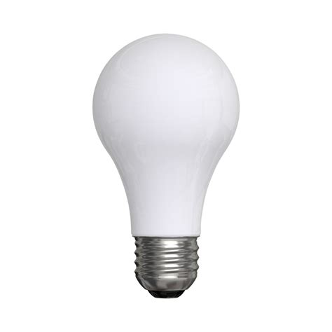 white light light bulbs shop ge 8 pack 60 w equivalent white a19 led light