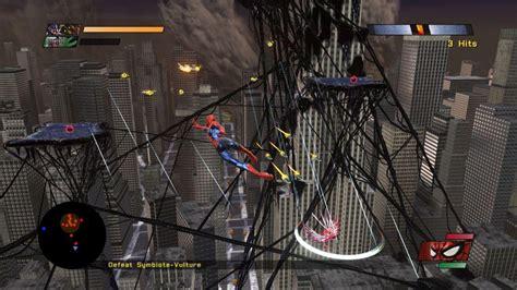 spider man web of shadows swinging spider man web of shadows review gaming nexus