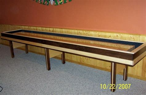 woodworking plans diy shuffleboard table plans pdf plans