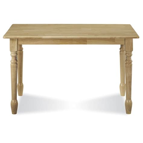 30 x 48 table top wood internationa concepts 30 quot x 48 quot solid wood top table