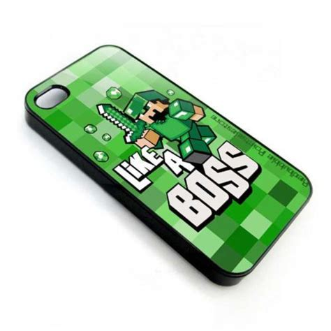 Minecraft Phone 3d Iphone 5 5s 6 Casing Hp Pig Wolf Creeper minecraft like a apple iphone 3 4 4s 5 5s ipod 4 ipod 5 ipod 5 cases